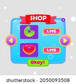 game ui shop double donuts...