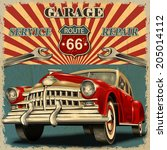 1950s,1960s,50s,60s,66,advertising,america,american,automobile,automotive,banner,car,classic,damaged,dirty