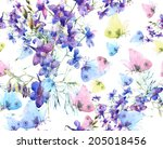 Floral Seamless Pattern....