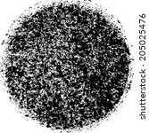 grunge circle   Shutterstock .eps vector #205025476