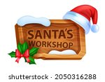 christmas wooden sign board ...