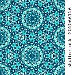 Seamless Mosaic Pattern Based...