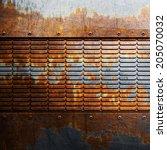 metal background   Shutterstock . vector #205070032
