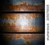 metal background | Shutterstock . vector #205070035