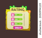 game ui rating chart users pop...