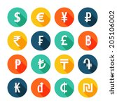 Money Icons Set. Vector...
