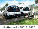 singapore   september 25  2021  ... | Shutterstock . vector #2051119892