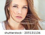 beautiful woman | Shutterstock . vector #205131136