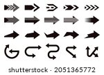 arrows big black set icons....