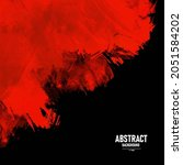 black and red abstract grunge... | Shutterstock .eps vector #2051584202