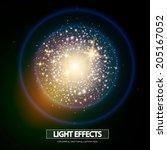 light burst effect.  vector...   Shutterstock .eps vector #205167052