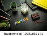 bonus word made with colorfyl... | Shutterstock . vector #2051881142