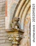 Gargoyle At A Old Church