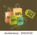 shopping concept illustration... | Shutterstock .eps vector #20524769