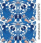floral vintage seamless pattern ...   Shutterstock .eps vector #2052571892