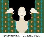 depression treatment.... | Shutterstock .eps vector #2052624428