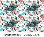 seamless vector pattern | Shutterstock .eps vector #205273276
