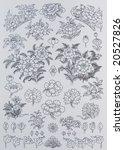 elements for design ... | Shutterstock . vector #20527826