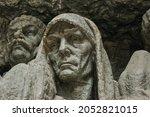 Sculpture Monument To Sad...