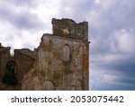 Mystical Ruins. Facade Of An...