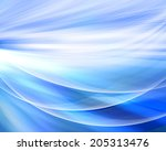 abstract blue background | Shutterstock . vector #205313476