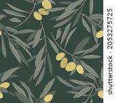 vector illustration olive...   Shutterstock .eps vector #2053275725