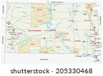 south dakota indian reservation ... | Shutterstock .eps vector #205330468