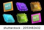 set of 6 different nft non...