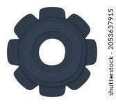 gray gear illustration over... | Shutterstock .eps vector #2053637915