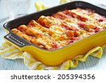 Meat Cannelloni With Tomato...