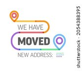 we are moving from one address... | Shutterstock .eps vector #2054388395