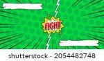 comic versus fight background...   Shutterstock .eps vector #2054482748