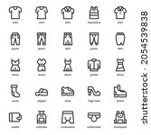 fashion and clothes icon pack...
