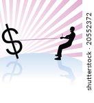 making money | Shutterstock .eps vector #20552372