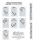 Guitar Chords  Diminished Chord ...