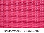 Wicker Pink Chair Texture