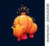 fantasy magic orange plump...