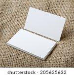 identity design  corporate... | Shutterstock . vector #205625632