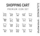 premium pack of shopping cart...