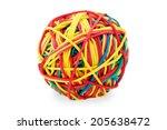 stationery gum | Shutterstock . vector #205638472