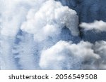 cloudy watercolor abstract... | Shutterstock . vector #2056549508