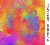 vector color paint banner. hand ... | Shutterstock .eps vector #2056643432
