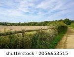 Gravel Footpath Alongside Farm...