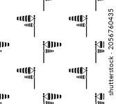 Wind Sock Icon Seamless Pattern ...