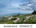phu thap boek in phetchabun... | Shutterstock . vector #205683172