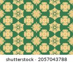 seamless vector pattern with... | Shutterstock .eps vector #2057043788
