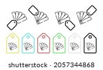 color pack vector icon in tag...