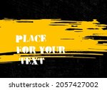 abstract creative ink header.... | Shutterstock .eps vector #2057427002