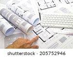 plans   tools | Shutterstock . vector #205752946