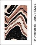trendy retro 1970s style... | Shutterstock .eps vector #2057743298